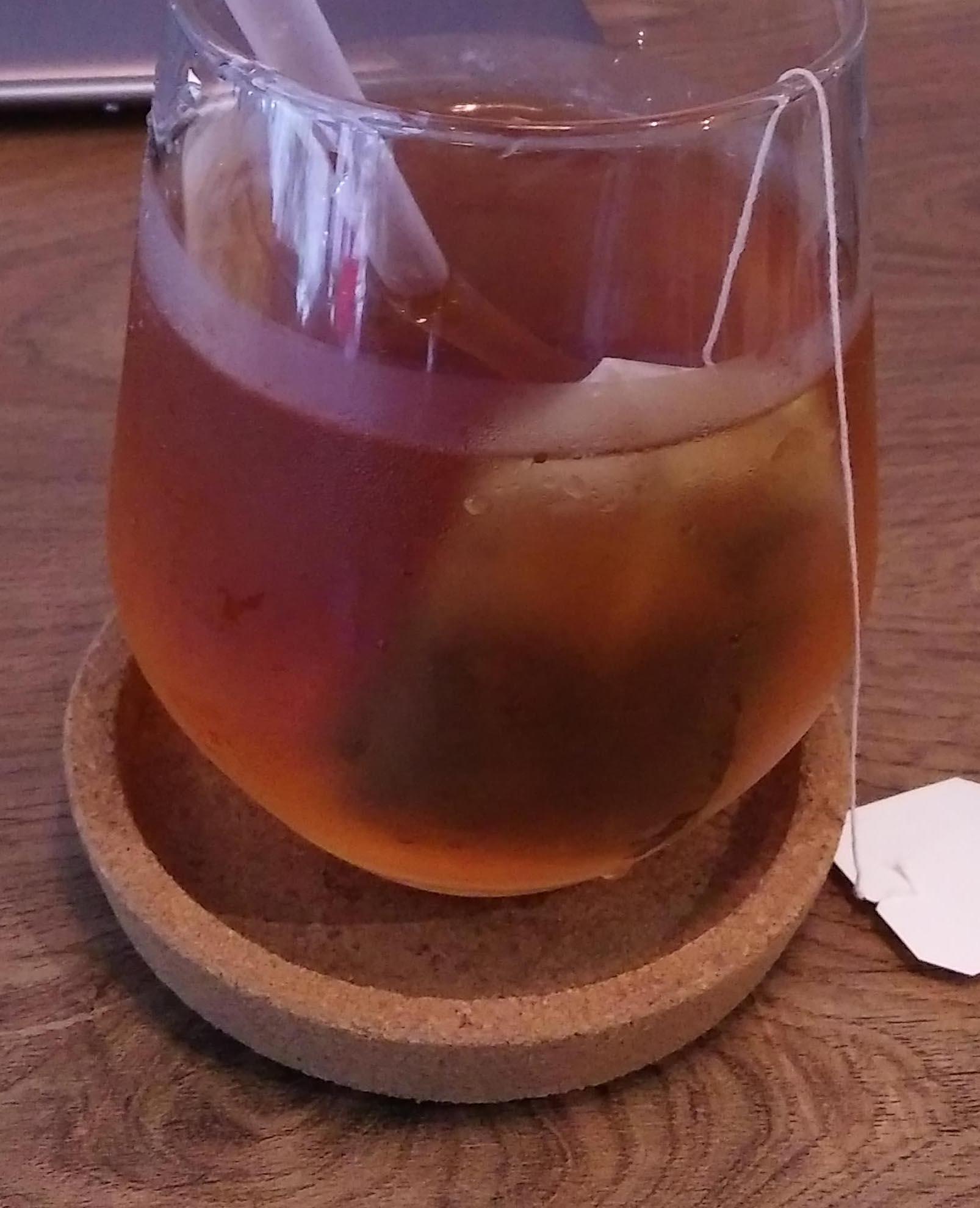 台北市南港昆陽站咖啡店 BOCY Patisserie & Bistro 有機香草紅茶
