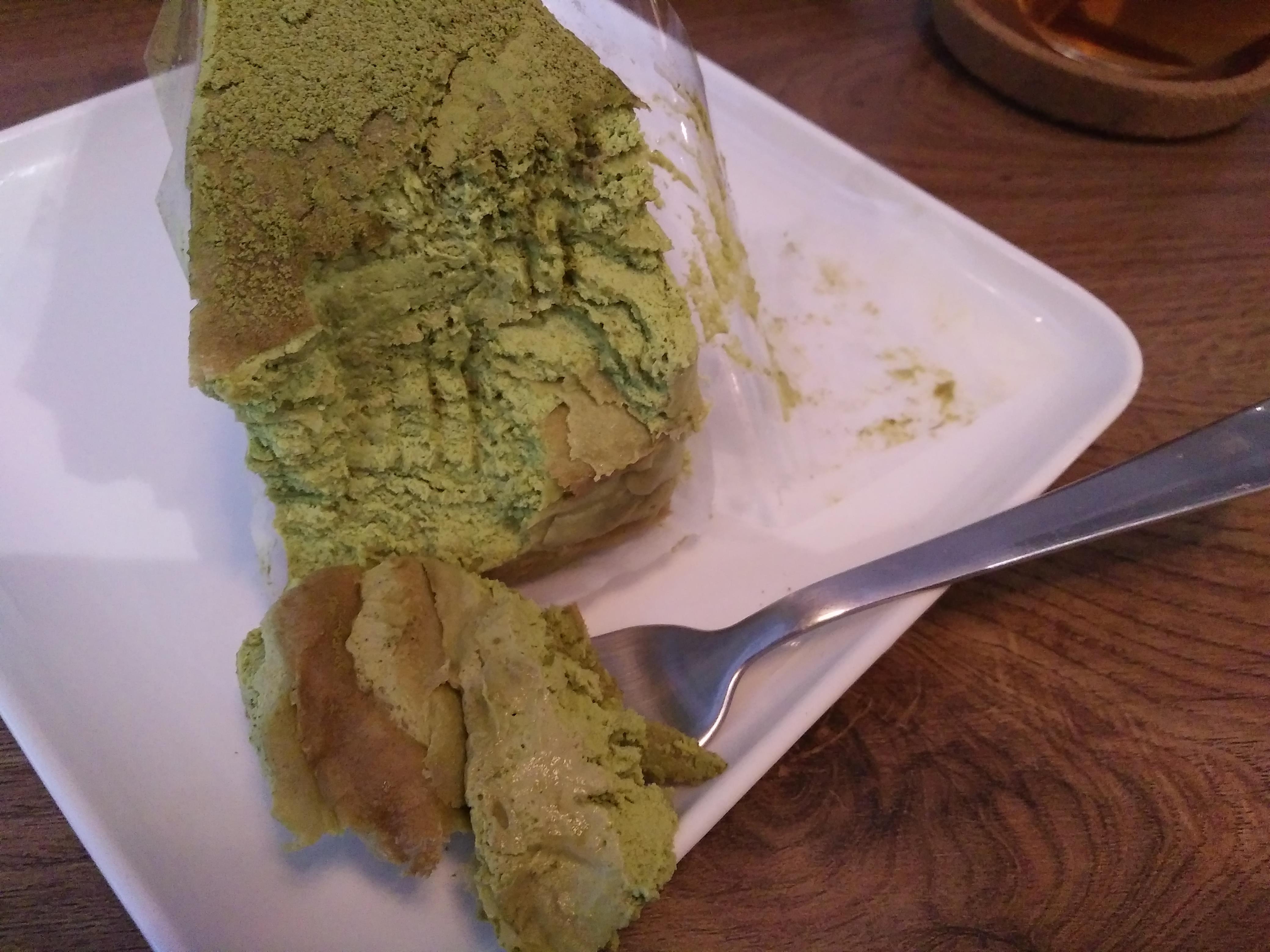 台北市南港昆陽站咖啡店 BOCY Patisserie & Bistro 寶希甜點好食光 治宇抹茶千層蛋糕