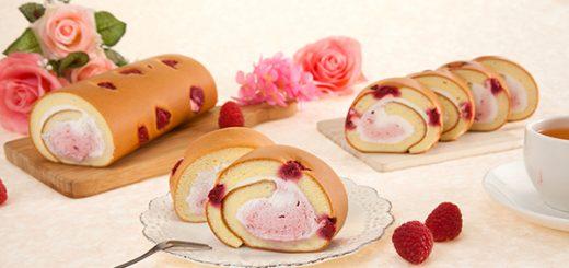 亞尼克生乳捲 - 覆盆莓