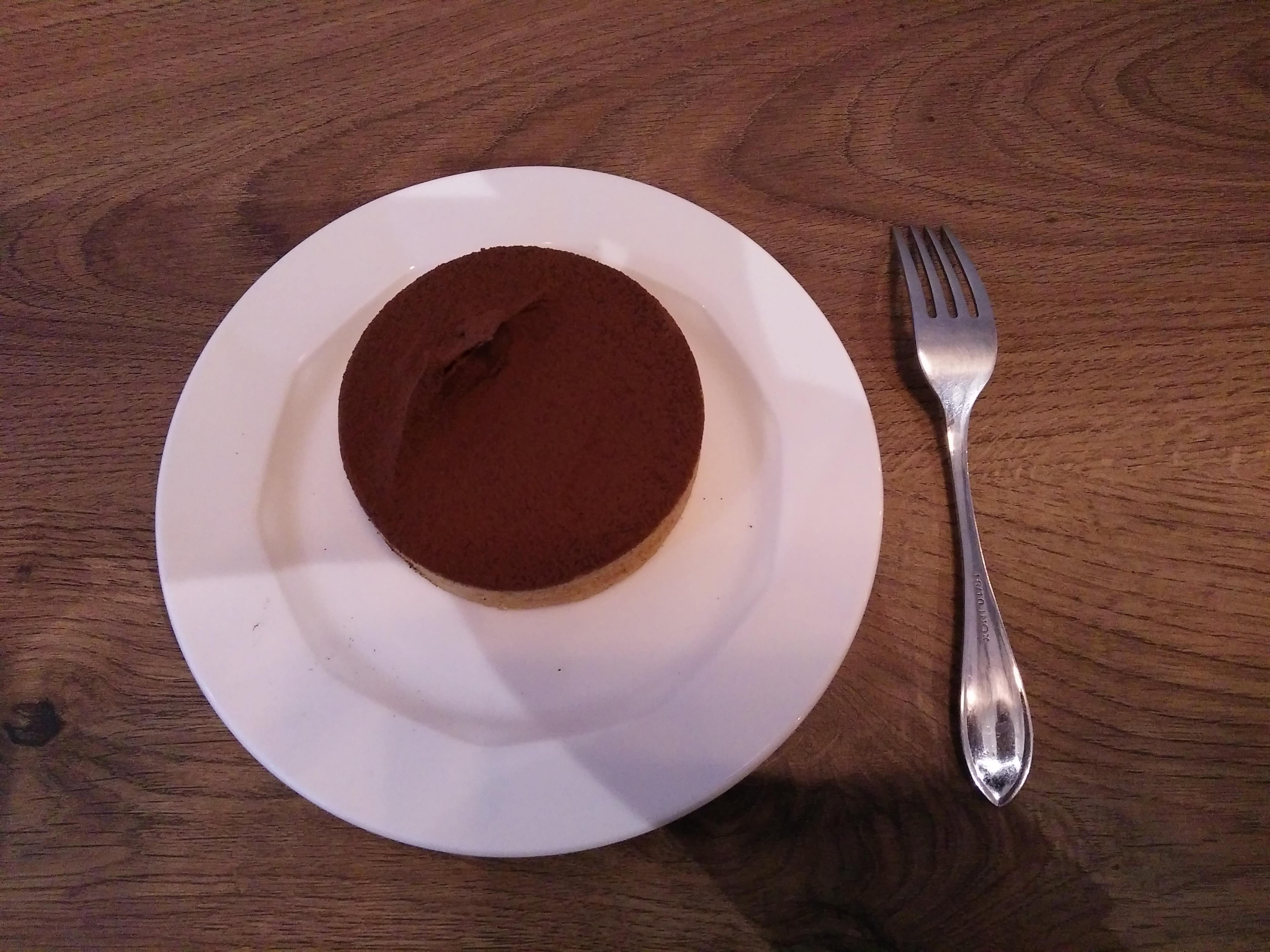 生巧克力塔|台北市南港昆陽站咖啡店 BOCY Patisserie & Bistro 寶希甜點好食光
