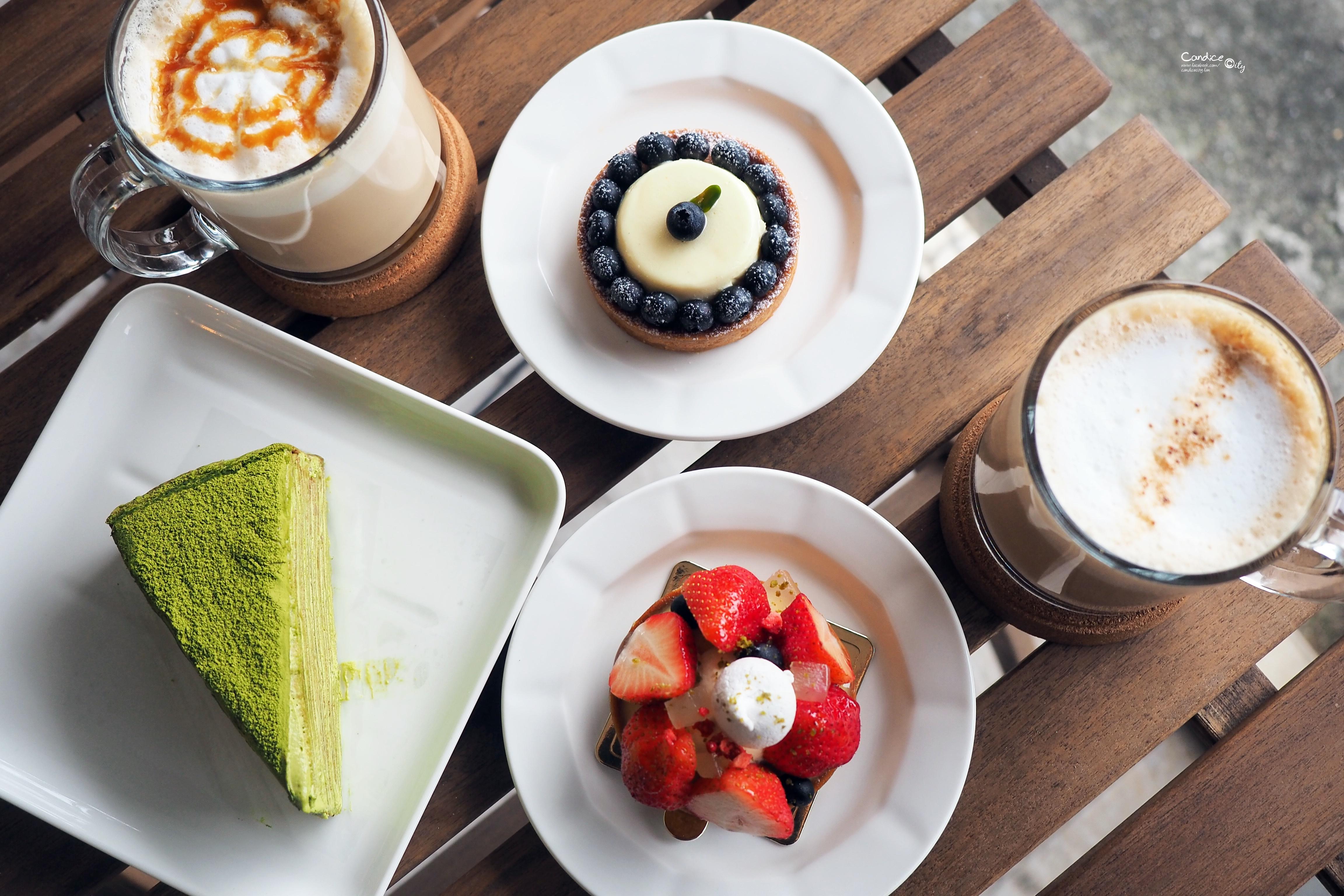 台北市南港區昆陽捷運站咖啡店 BOCY Patisserie & Bistro 寶希甜點好食光