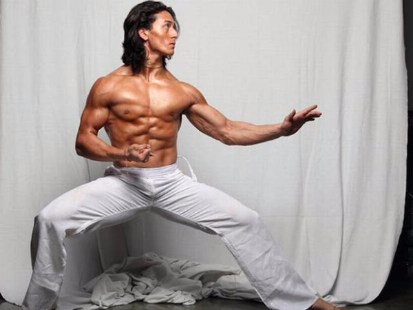 Tiger Shroff muscle martial arts